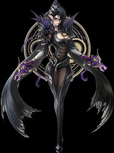 Video Game Characters, Fantasy Characters, Female Characters, Anime Characters, Dark Fantasy, Fantasy Art, Original Anime, Dmc, Gothic Horror