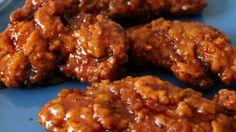 Receta para un pollo crujiente, dulce y picante - Sabrosía