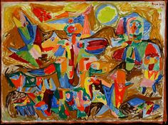 Asger Jorn, Toy Painting, 1945