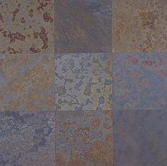 Echeguren Brazilian Flooring Slates : Brazilian Multicolor Flooring Slate