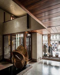 Olivetti Showroom. Venice, Italy. 1957-58. Carlo Scarpa.