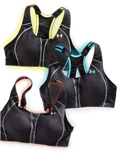 Introducing the UA Armour Bra. It's the only sports bra made just for you. $57.99