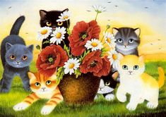 Beautiful cat art