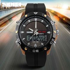 12.72$  Buy now - http://alirwx.shopchina.info/go.php?t=32638829266 - Brand Solar Energy  Men's Quartz Watch Men Sports Watches Relogio Masculino Digital Multifunctional Outdoor Wristwatches SKMEI 12.72$ #buyininternet