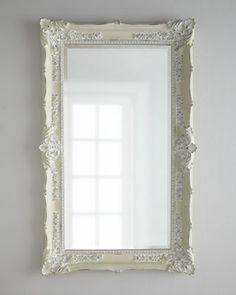 """Antique+White""+Mirror+at+Horchow."