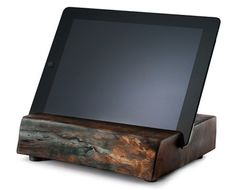 Past, Meet Future: iPad Stands from Reclaimed Wood : Discovery Channel
