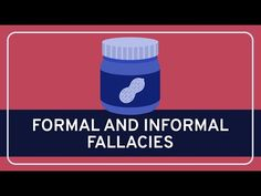 In this Wireless Philosophy video, Paul Henne (Duke University) describes the distinction between formal and informal fallacies. Logical Fallacies, Conversation Topics, Duke University, Critical Thinking, Philosophy, Challenges, Youtube, Casual