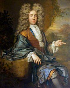 Henry Davenport III as a Young Man by Jan van der Vaart , 1699