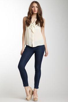 Henry & Belle Ideal Tuxedo Ankle Skinny Jean by Non Specific on @HauteLook
