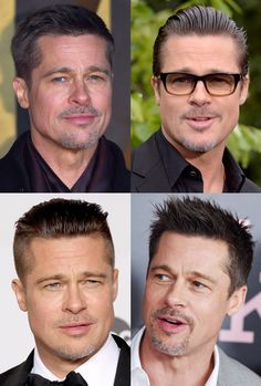 4 Hairstyle Suggestions - Brad Pitt - A Gentleman's Lifestyle