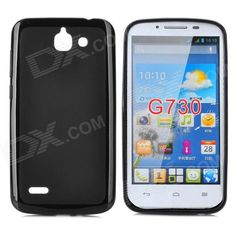 Color: Black; Brand: PUDINI; Model: LX-G730; Material: TPU; Quantity: 1 Piece; Compatible Models: Huawei G730; Other Features: Protects your device from scratches, dust and shock; Packing List: 1 x Protective case; http://j.mp/1pE3fKR