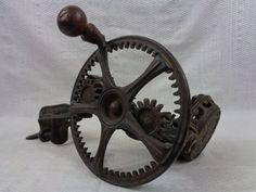 Antique Apple Peeler Patented Cast Iron Peeler by FairchildsInc