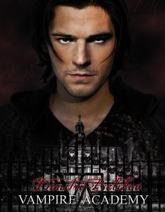 Vampire Academy: Blood Sisters fan art featuring Danila Kozlovsky as Dimitri Belikov