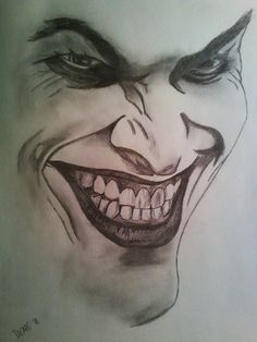Joker Art Drawing