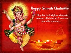 We wish you a very happy Ganesh Chaturthi. May Lord Ganesha fill your heart with love, peace & prosperity. Ganesh Chaturthi Messages, Ganesh Chaturthi Greetings, Happy Ganesh Chaturthi Wishes, Happy Ganesh Chaturthi Images, Ganesh Images, Ganesha Pictures, Krishna Images, Shri Ganesh, Lord Ganesha