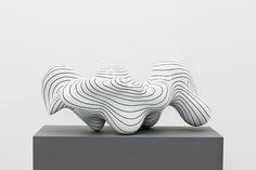 Steen Ipsen, Organic 28/14, earthenware, 30x64 cm