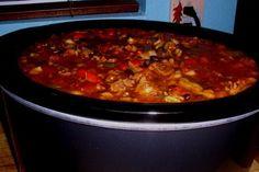 Southwestern Pork, Beef & Black Bean Chili Recipe