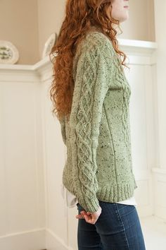 Cabled Faux Argyle Cardi - Knitting Patterns and Crochet Patterns from KnitPicks.com by Various On Sale