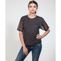 Jersey Front T-Shirt
