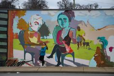 Looking for gorgeous Nashville murals to serve as your photo backdrops. Check out the best street art in East Nashville, 12 South, the Gulch and beyond. I Believe In Nashville, Nashville Murals, Commerce Street, Jefferson Street, School Murals, Best Street Art, Photography Backdrops, Urban Art, Amazing Photography
