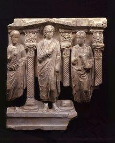 Christ  relief - 5th century. Sammlung: Skulpturensammlung und Museum für Byzantinische Kunst | Museum für Byzantinische Kunst