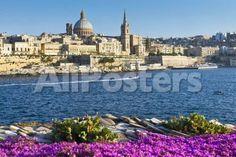 Valletta, Malta, Mediterranean, by Hengki Lee Landscapes Photographic Print - 61 x 41 cm