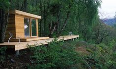 Tiny Norwegian Summer House by Todd Saunders and Tommie Wilhelmsen
