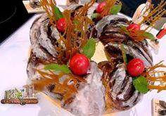 Prăjitura cu foi fragede cu nucă și cremă de lămâie - Rețete Merișor Nutella, Sushi, Beef, Ethnic Recipes, Food, Meat, Essen, Meals, Yemek