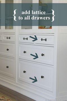 {A CHARMING NEST}: {Turning IKEA into Custom Built-Ins!} PART II
