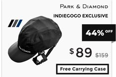 Park & Diamond: Foldable Bike Helmet | Indiegogo