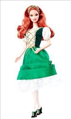 Barbie Muñecas del mundo - Irlanda