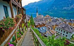 Hallstatt, Austria - 22 Postcard-Perfect European Villages Straight Out of a Fairytale from Travel + Leisure.