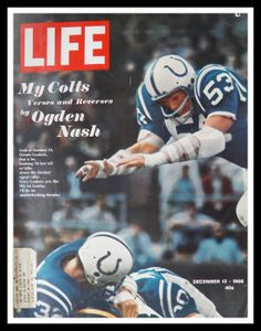 68 Baltimore Colts Mike Curtis Life Mag Cover.