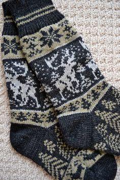 Chaussettes laines lart populaire scandinave norvégien