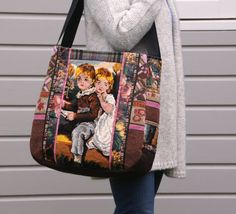 Bag/ Tote/ Large bag by dutchsisters on Etsy