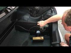 Mercedes R170 SLK - Testing the Convertible Top Pump for an Internal Bypass - YouTube