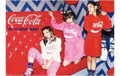「コカ・コーラ」が下着やバスローブに ヤミーマートから限定発売 | Fashionsnap.com