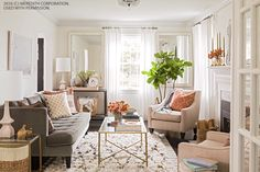 Entertaining Ideas for a Little Living Room - Decorology