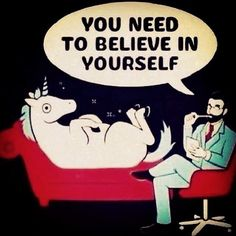 I just believe in me #happiness