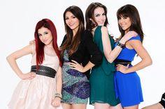 Victorious Girls - Ariana Grande, Victoria Justice, Elizabeth Gillies, Daniella Monet
