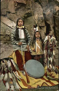 Native American 1908 Indian Natives of Oregon
