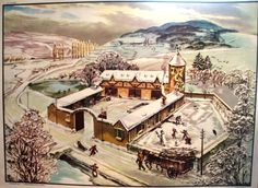 L'hiver (affiche scolaire) Illustration, Images, Painting, Classroom, School Posters, Old Cards, Digital Image, Winter, Spring