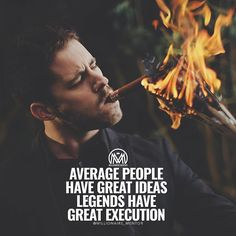 Anyone can have the idea it's the action and execution that sets the winners apart from the thinkers. Be a winner and follow @kunal00 for more advice! #millionairementor by millionaire_mentor
