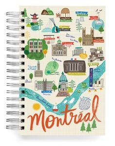 JOURNALS :: Jumbo Journals :: Montreal Jumbo Journal - Ecojot - eco savvy paper products