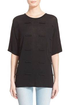 Opening Ceremony 'Picket Fence' Boxy Knit Top available at #Nordstrom