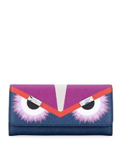 l0jts fendi continental monster wallet