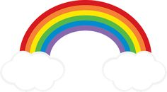 Rainbow Cloud clipart FREEBIE from GO Designs at GradeONEderfulDesigns.com Rainbow Cloud, Rainbow Baby, Painting For Kids, Art For Kids, Rainbow Clipart, Victorian Wallpaper, Rainbow Balloons, Butterfly Template, Rainbow Painting