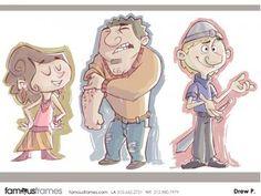 FamousFrames Storyboards, Animatic Artists, Storyboard Artists, Drew Pierce