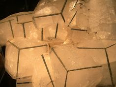 Pyrite on the edges of Calcite - pretty phenomenal
