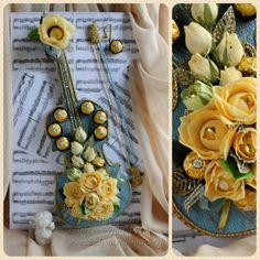 (1) Gallery.ru / Фото #9 - музыкальные инструменты из конфет - candybuket